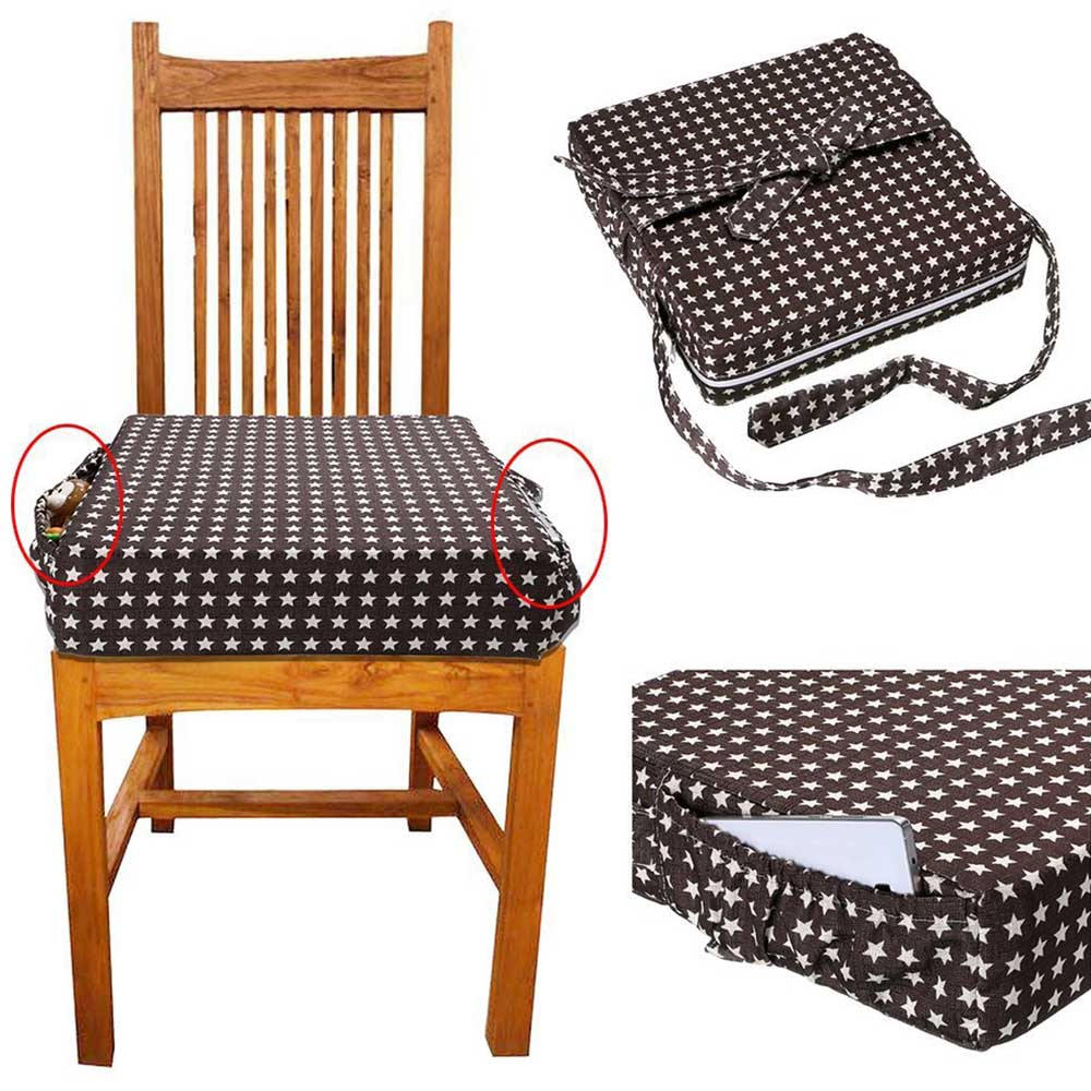 Baby Kids Chair Booster Cushion Dining Chair Child ...