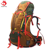Jungle King New outdoor professional mountaineering bag large capacity 80L heavy package outdoor camping hiking backpack 2.5kg