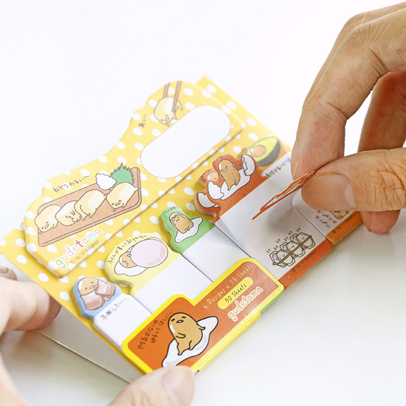 6 PCS/LOT Kawaii DIY Decoration Memo pad Cute Animal Cartoon post it stickers planner Stationery Office School supplies 01931