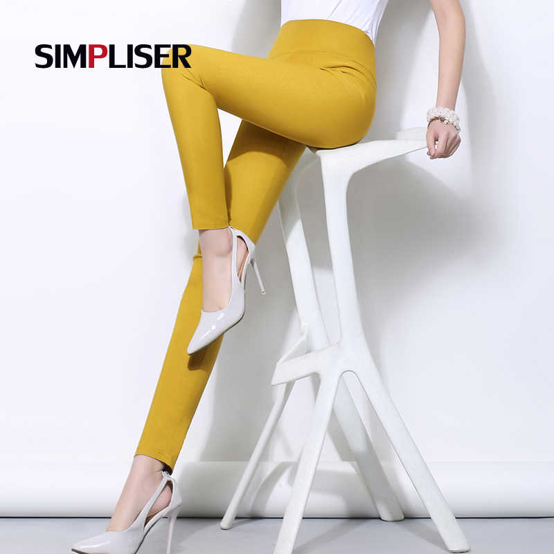 SIMPLISER Lange Leggings Vrouwelijke Stretch Potlood Broek Plus Size Wit Zwart Dames Skinny Leggings Femme Slanke Broek 5xl 6xl