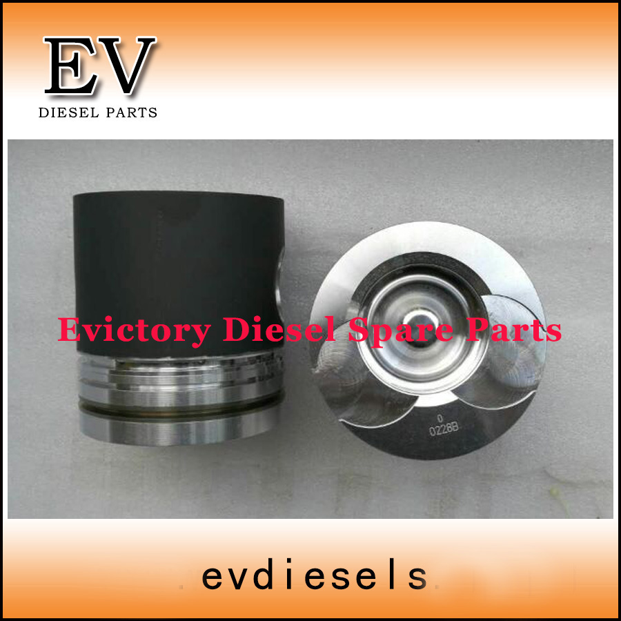 DE08 DE08T DE08TI DE08TIS piston and piston ring set Doosan Excavator DH300-5 DH220-3DE08 DE08T DE08TI DE08TIS piston and piston ring set Doosan Excavator DH300-5 DH220-3