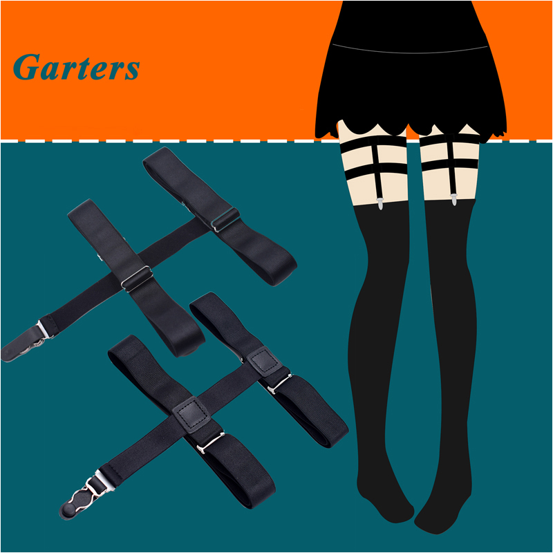 Garters Hot Sale High Quality 1 Pair Sexy Leg Thigh Belt Waist Elastic Strap Pu Garter Belt Pair Of Non-slip Rave Leg Elegant In Smell