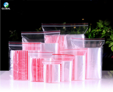 10000pcs 9*13cm Resealable Transparent self seal OPP Plastic Bags zipper Gifts/Candy/Cookie/grocery/Jewelry Packaging Pouch