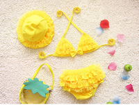 2017 Sunny Girls Bikinis Children Bikini Swimwear Swimsuit Baby Kids Swimsuit Girl Two Parts Bikini