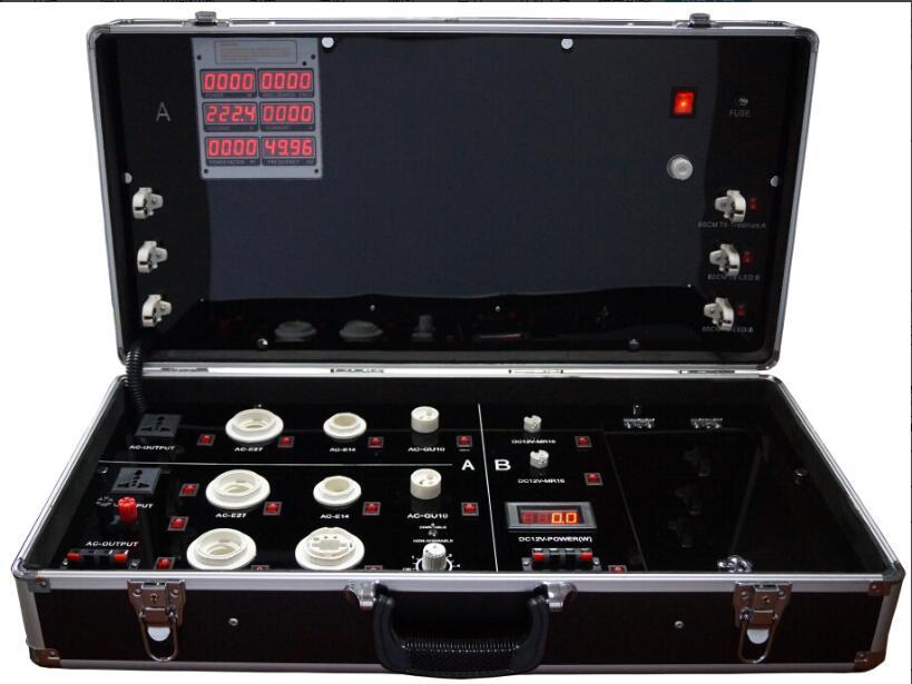 LED demo fall, Das led-digitalanzeige test box, led-beleuchtung demo box