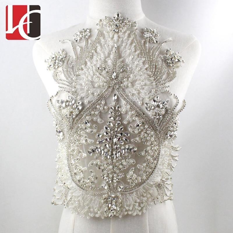 New Fashion Rhinestone Applique For Wedding Dress Accessories