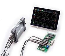 Hantek 6254BD 4 канала 250 МГц полоса пропускания Osiclloscope цифровой USB ПК портативный Osciloscopio с 25 МГц генератор сигналов