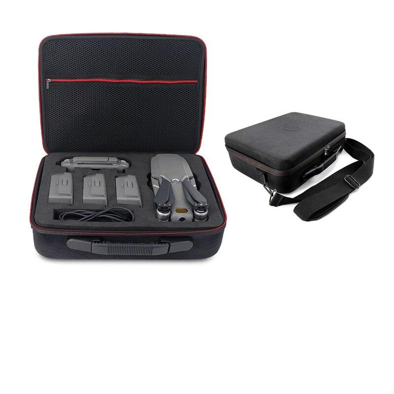 Étui de Drone Portable de sécurité pour DJI Mavic 2 Pro/Zoom sac à main étui de transport EVA coque rigide Drone accessoires (4 Batteries) sac de rangement