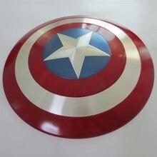 Guerra Civil 1/1 Capitán América Shield Metal De La Aleación completa 1:1 Réplica Cosplay Figura Modelo WU526