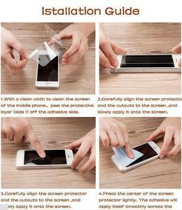 Image 5 - 2 قطعة الزجاج المقسى sFor LG X الطاقة رقيقة جدا واقي للشاشة ل LG X قوة تشديد طبقة رقيقة واقية + تنظيف عدة HATOLY