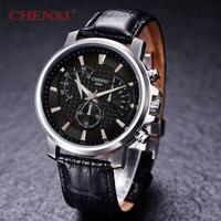 New Men S Dress Quartz Wrist Watch CHENXI Watch Men Luxury Brand Leather Strap Watches Relogio