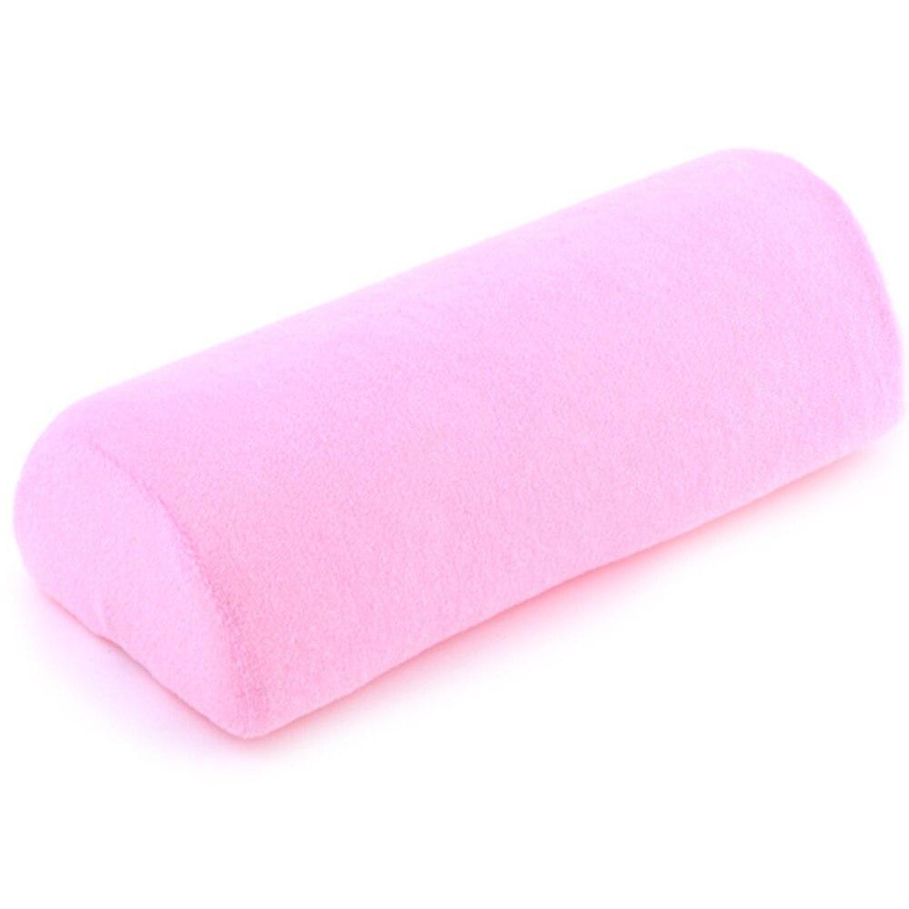 Elecool 1 Stück Rosa Tuch Maniküre Kissen Weiche Coussin Gießen Manucure Schmücken Kissen Für Nail Art Maniküre Salon Pflege Hand Ruht Handauflagen Schönheit & Gesundheit