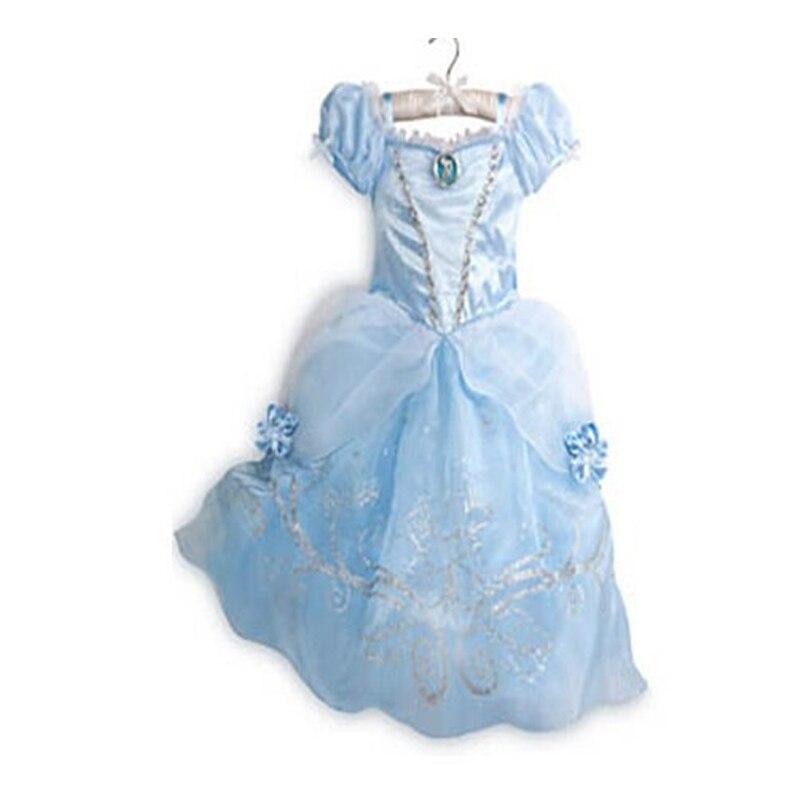 เด็ก Y5Y6 ส่วนลดครั้งสุดท้าย ชุดเครื่องแต่งกายเจ้าหญิงดำเนินการเสื้อผ้า
