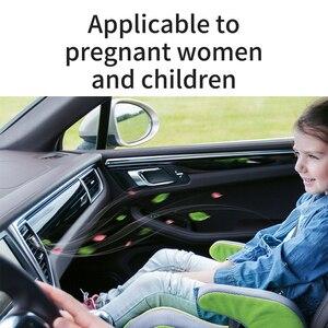 Image 5 - Baseus Metal coche Perfume aire ambientador aromaterapia sólido para la salida de aire del coche ambientador aire acondicionado Clip difusor