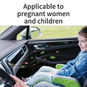 Image 5 - Baseus 金属車の香水空気清浄アロマ固体用のベント吹出口清浄エアコンクリップディフューザー