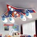 Детская потолочная лампа для крыши  присоска для мальчиков  для спальни  Starway  авиационный потолочный светильник  дистанционное управление  ...
