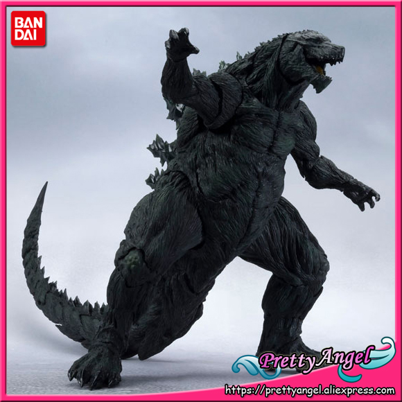 PrettyAngel - Genuine Bandai Tamashii Nations S.H.MonsterArts Godzilla (2017) First Press Limited Edition Action Figure prettyangel genuine bandai tamashii nations s h figuarts bakuon rin suzunoki rider suit & gsx 400s katana action figure
