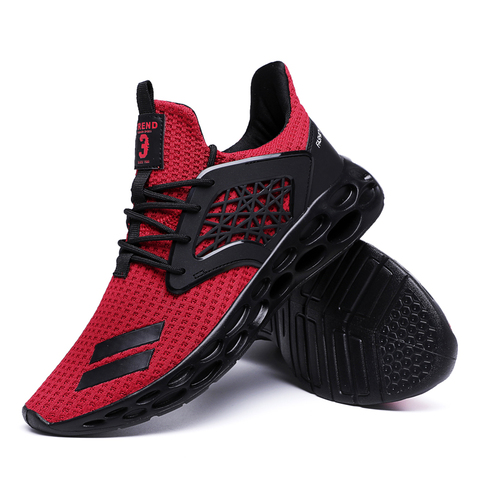 New Spring 2019 Hot sale Comfortable Running Sports For Men Outdoors Activities trainers Wear-Resistant Breathable man Sneakers Pakistan