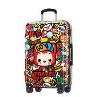 2024inch colorful fashion wheels travel de viaje con ruedas envio gratis maletas suitcase koffer valiz rolling luggage