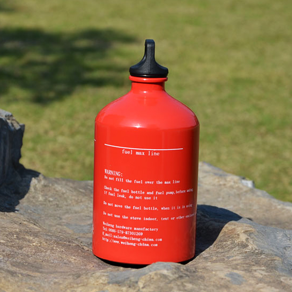1000ml Outdoor Camping Stove Fuel Bottle Empty Fuel Bottle Tank Gas Fuel Storager Petrol Kerosene Alcohol Gasoline Container in Outdoor Tools from Sports Entertainment