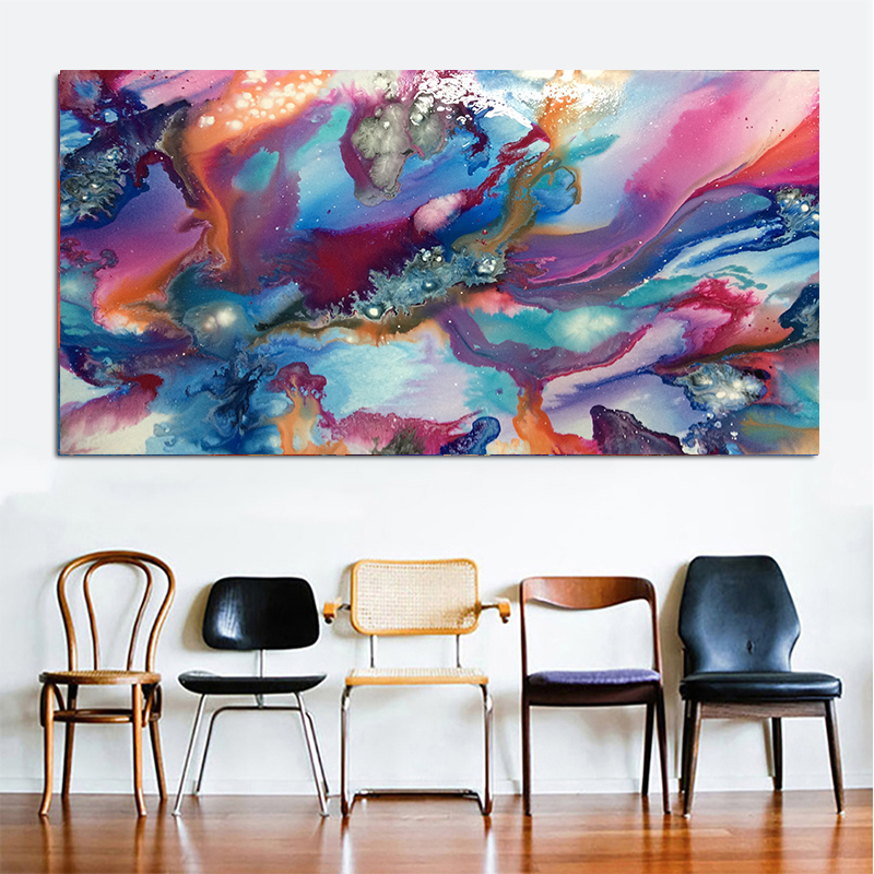 663b2898457 Canvas Printings Acrylic abstract Art Painting Ideas Fluid Paint Techniques  Simple Abstract Drawing Examples Wall Art Posters