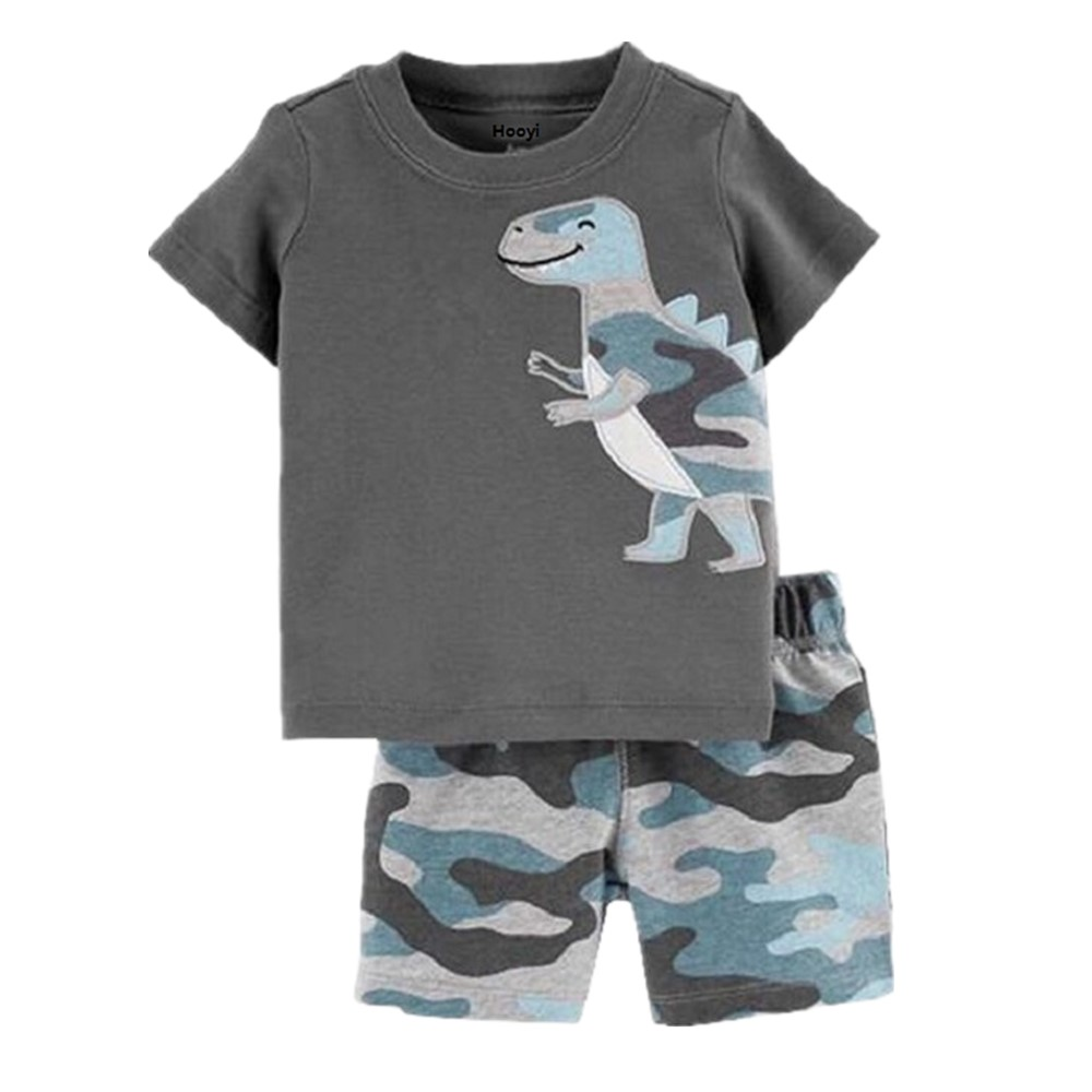Boys Camouflage Army Camo Vest With Shorts Kids Tops Casual Cotton T Shirt TOP