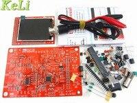 Free Shipping 1Sets High Quality DS0138 Digital Oscilloscope DIY Kit Probe Unsoldered Flux Workshop STM32 200khz