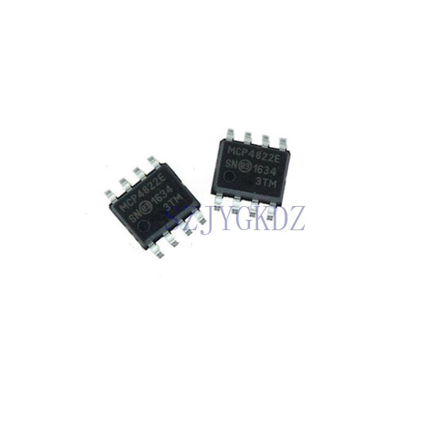Mcp4822-e Mcp4822 <font><b>Dac</b></font> 2-ch Widerstand-string <font><b>12</b></font>-<font><b>bit</b></font> Automotive 8-pin Soic N Mcp4822-e/sn image