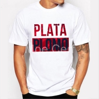 Plata O Plomo Narcos Pablo Escobar T Shirt Men Hip Hop O Neck Short Sleeved Hipster