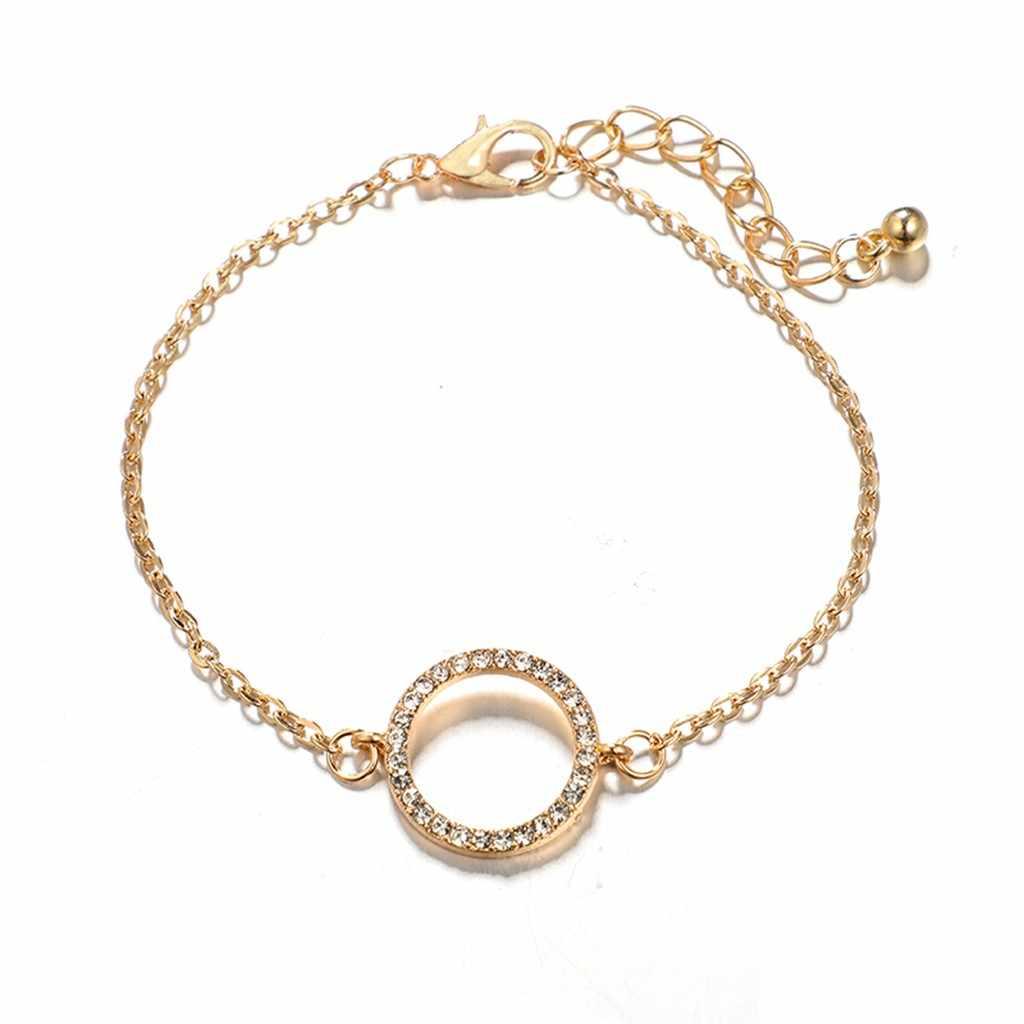 Zerotime # H5 nowa moda stylowy wielu warstw elegancka kobieta wisiorek panie biżuteria bransoletka ze stopów darmowa wysyłka