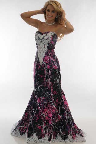 5a29681972b6c ... muddy girl pink camouflage wedding dresses 2019 vestido de noiva  mermaid camo party dress custom make
