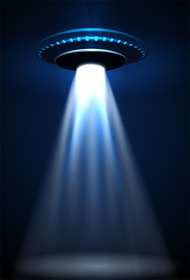 Laeacco Fantasia Brilhante Cena Alienígena UFO Câmera Fotográfica Backdrops Para Estúdio de Fotografia Fotografia Fundos Personalizados