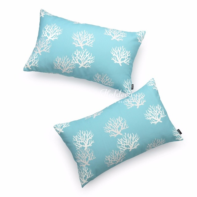 sonoma silk pillow coral products williams printed reef by lumbar blue cover