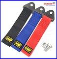 Correa de remolque Universal OMP Racing Car Tow Correa de alta Resistencia/Cuerdas de Remolque/Remolque Bares (Rojo Azul Verde gris Negro Amarillo)
