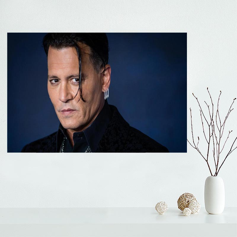 Johnny Depp Wall Art Picture