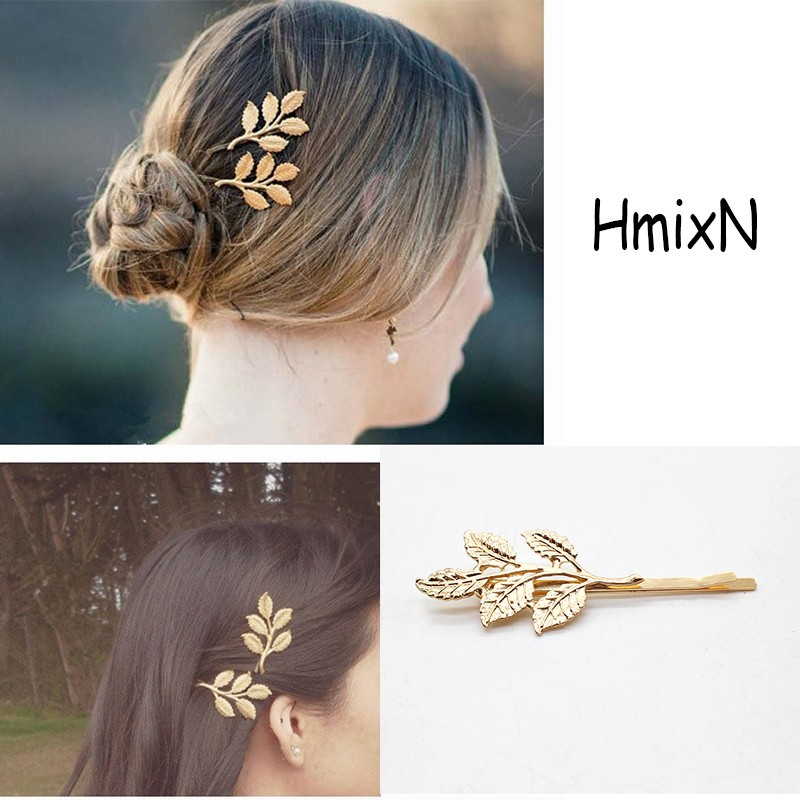 NEW Fashion Hairpins Round triangle Moon Hair pins Metal head jewelry for Women Lady Barrette Clip Hair Accessories Girls Holder 7
