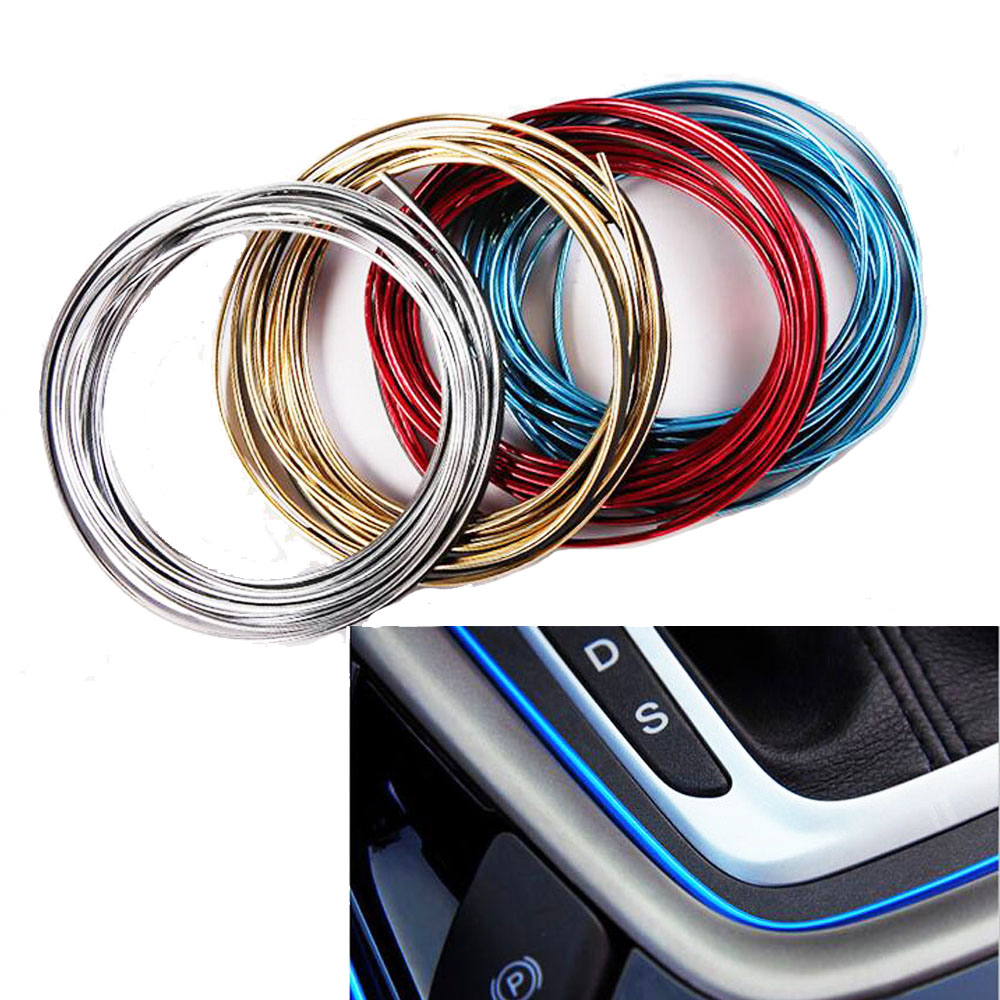 5 Meters car interior gap colour strips for Opel astra j g mokka insignia zafira b meriva vectra b vivaro-in Car Stickers from Automobiles & Motorcycles