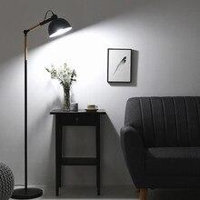 Modern Design Wooden Led Floor lamp For Study Bedroom Bedside Living Room eye protection Lampshade Adjustable Home Standing Lamp