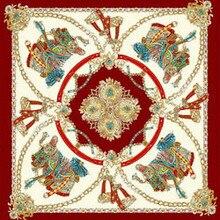 neck scarf silkly scarf 90cm square shawls femme bufandas invierno mujer satin polyester hair hijab designer scarf letters print цены