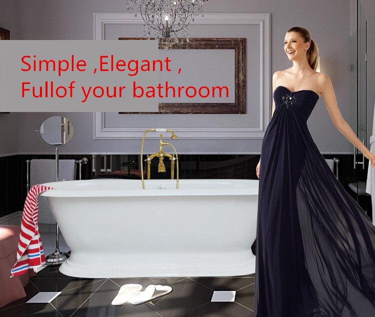 Herzhaft Freies Verschiffen Luxus Badewanne Verwenden Für Indoor Gusseisen Sockel Badewanne 1025 Badezimmerarmaturen