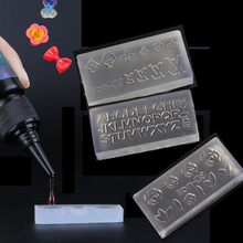 3D Acrylic Mold for Nail Art Decorations DIY Polish Tool Silicone Molds Nail Art Templates Pattern Mold Nails Art Salon Design