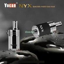 5ชิ้น/ล็อตเดิมบุหรี่อิเล็กทรอนิกส์Yocan NYXฉีดน้ำฉีดน้ำขี้ผึ้งairfolwปุ่มควบคุม510 vaportankเรือฟรี