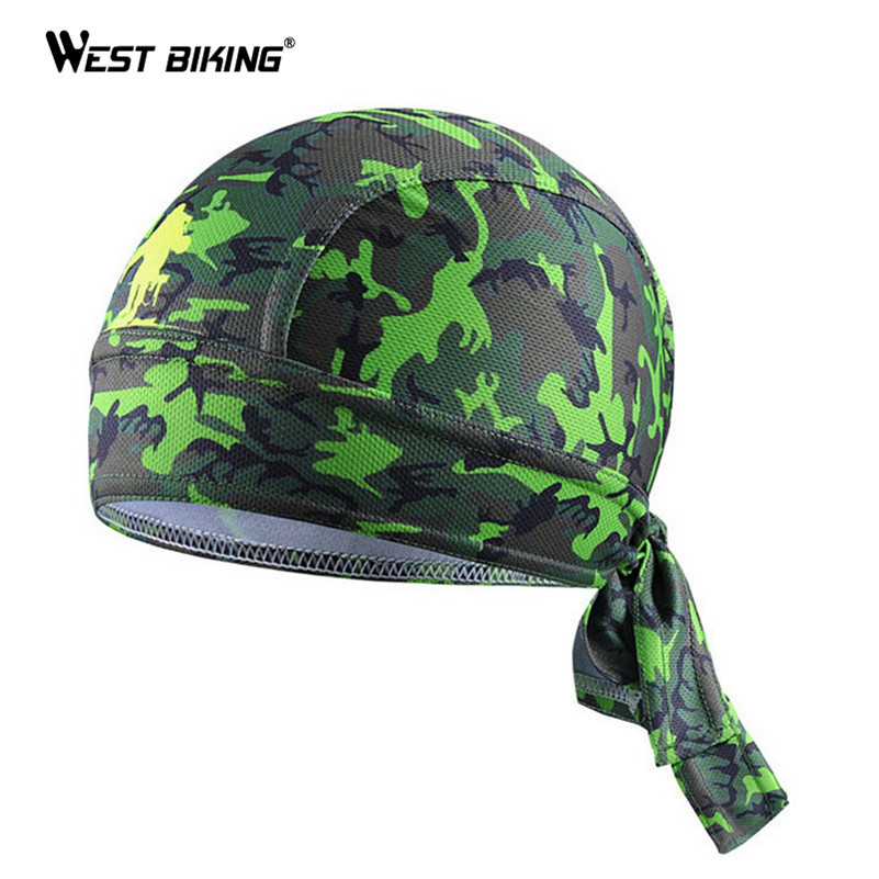 WEST BIKING Cycling Cap Bandana Gorra Ciclismo Bike Bicycle Riding Headband Pirate Scarf Hat Sunscreen Sweatproof Headwear Cap