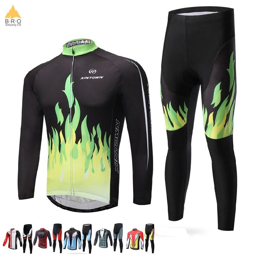 Maillots de cyclisme à manches longues Pro Fit vélo de route vtt haut Jersey printemps été vêtements de cyclisme pour hommes/femmes