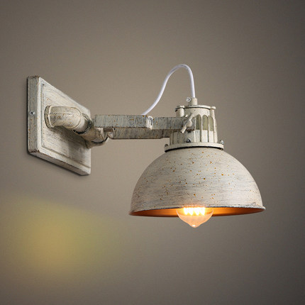 Loft American style country industrial pot cover wall lamp room corridor Bar Cafe wall lamp american country industrial glass pot pendent lamp