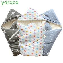 Детское Пеленальное Одеяло 90x90 см, плотное теплое одеяло из берберского флиса, конверты для новорожденных, детское постельное белье для сна