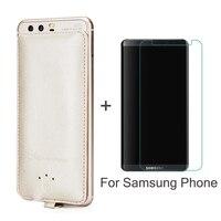 Batterie Cas Chargeur 4000 mAh banque D'alimentation de secours Pour Samsung Galaxy A5 A7 2016 J5 J7 S 5 6 7 8 Carex Plus Cadeau Trempé verre