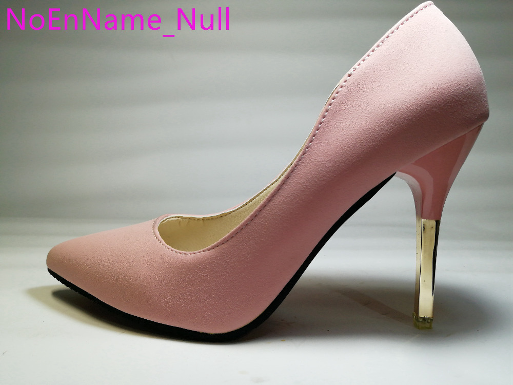 2016 spring Autumn Women's elegant ol single shoes shallow mouth pointed toe thin heels sexy pink women's high-heeled shoes 350 2017 spring autumn shoes shallow mouth pointed toe fashion high heeled velvet thin heels pumps office party shoes
