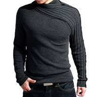 2019 Autumn Winter New Brand Men's Sweaters Knitted Solid Casual Men Sweater Long Sleeve O neck Slim Pullover Slim Hot Sale