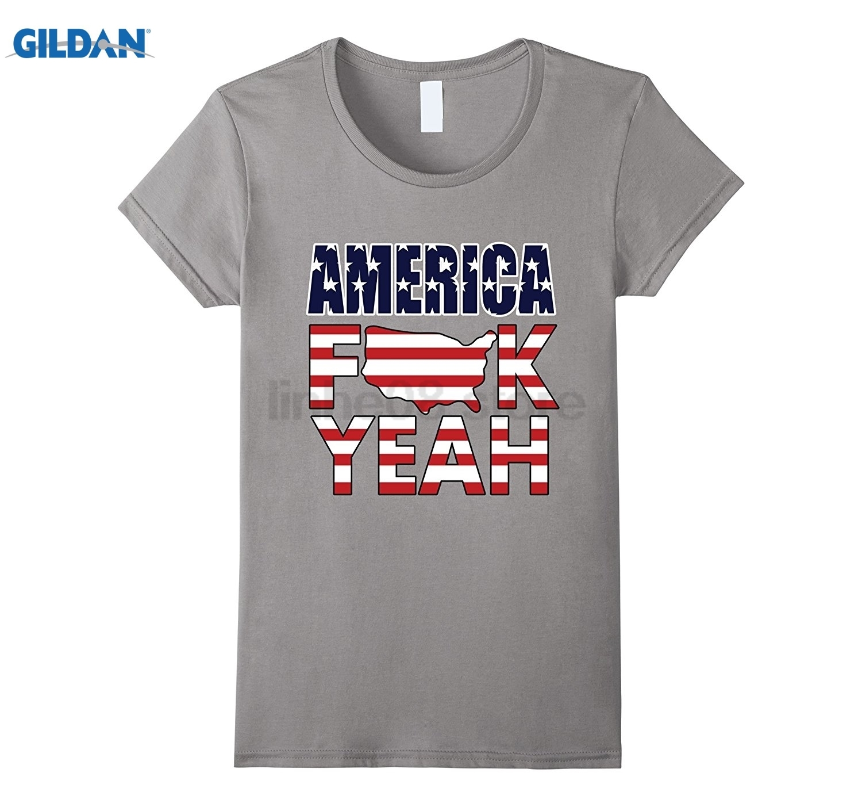 GILDAN AMERICA YEAH T SHIRT PATRIOT T-SHIRT Womens T-shirt ...